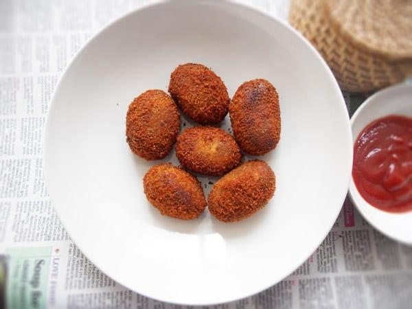 Kerala Beef Cutlets Recipe