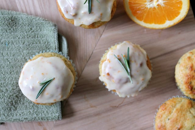 Orange, Walnut Rosemary Muffins Recipe