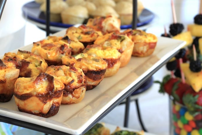 Party Food Recipe Mini Quiches