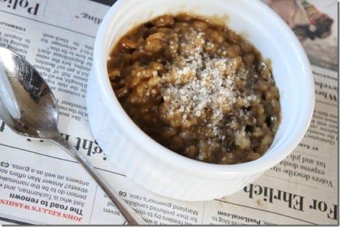 Porcini Mushroom Risotto Recipe