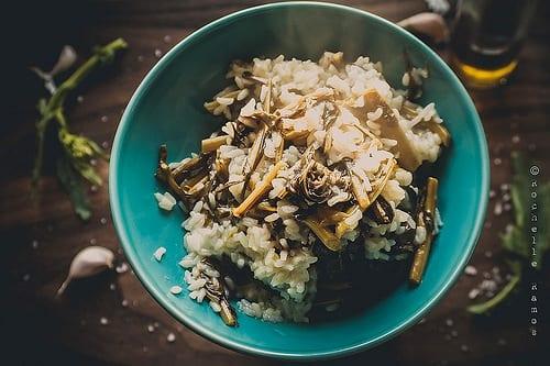 Portuguese Rice Recipe Turnip Greens Arroz de Grelos