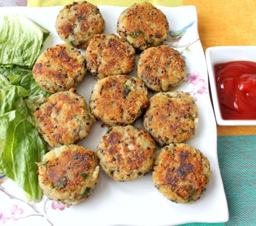 Quinoa Potato Cakes Recipe Indian