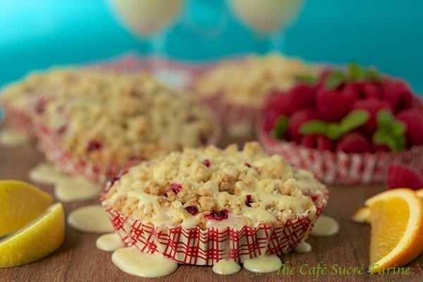 Raspberry Crumble Muffins Recipe