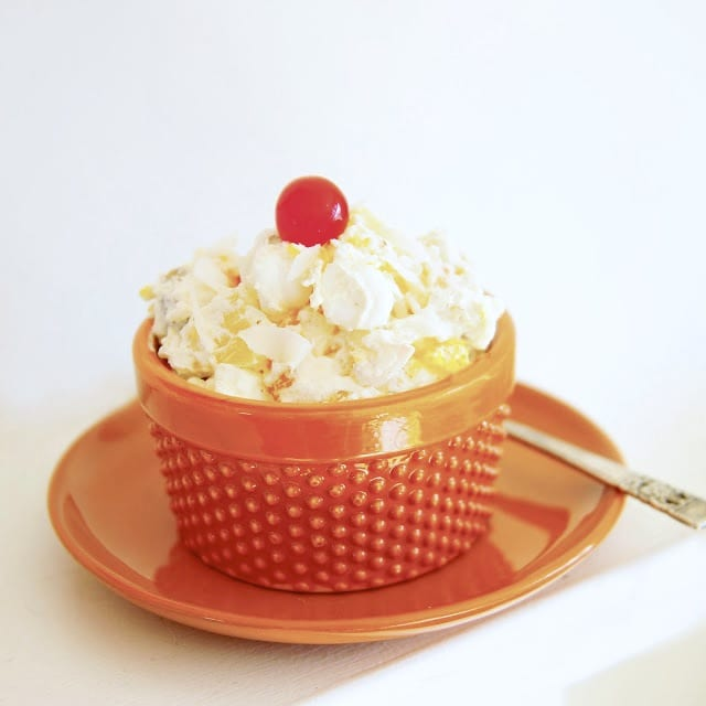 Retro Recipe Ambrosia Salad