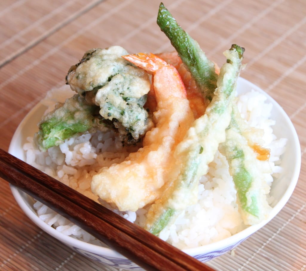 Seafood Vegetable Tempura Recipe