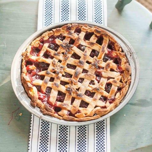 Sour Cherry Pie with Jarred Cherries – Honest Cooking