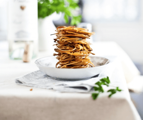 Spaghetti Fritters Finger Food Recipe