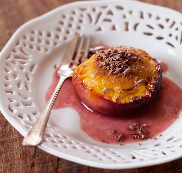 Stuffed Peaches Recipe