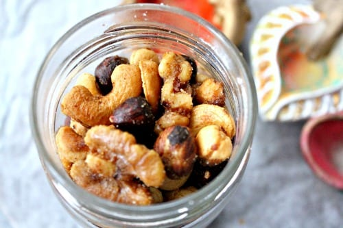 Sweet and Spicy Curried Nuts Recipe