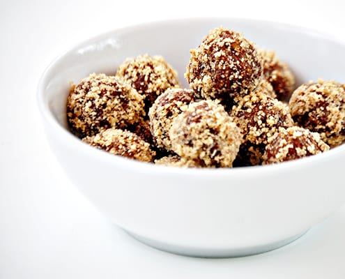 Fig Truffles in Bowl