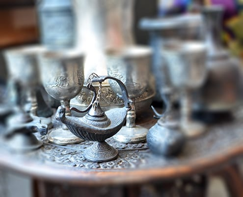 I snapped this photo at a market in Damascus in spring 2011.