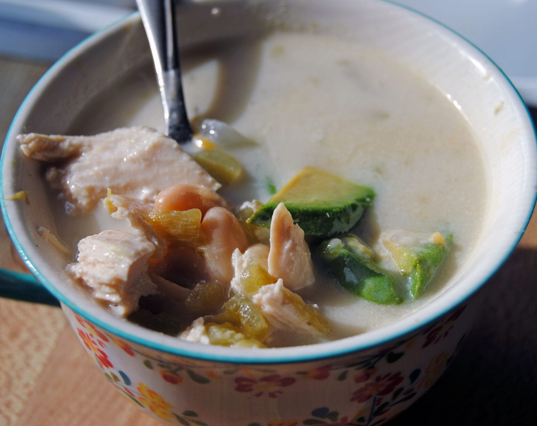 """Crock-Pot White Chicken Chili 