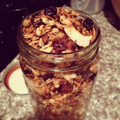 Gluten and Nut-Free Granola