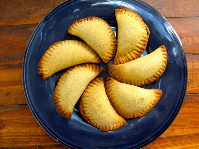 Empanadas with Pumpkin Seed Salsa