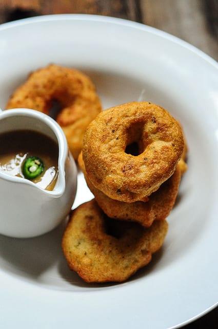 Indian Breakfast - Medhu Vadai