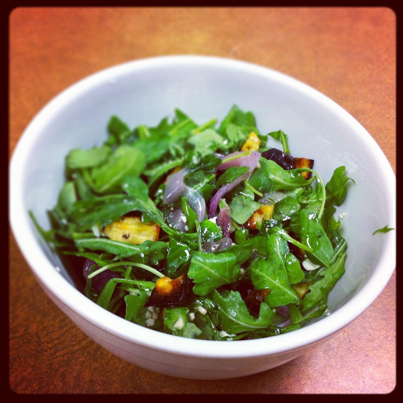 Sweet Potato Arugula Salad