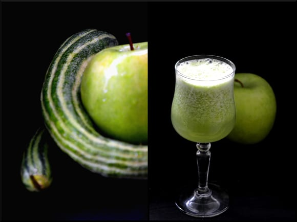 Armenian Cucumber and Green Apple Sorbet Recipe