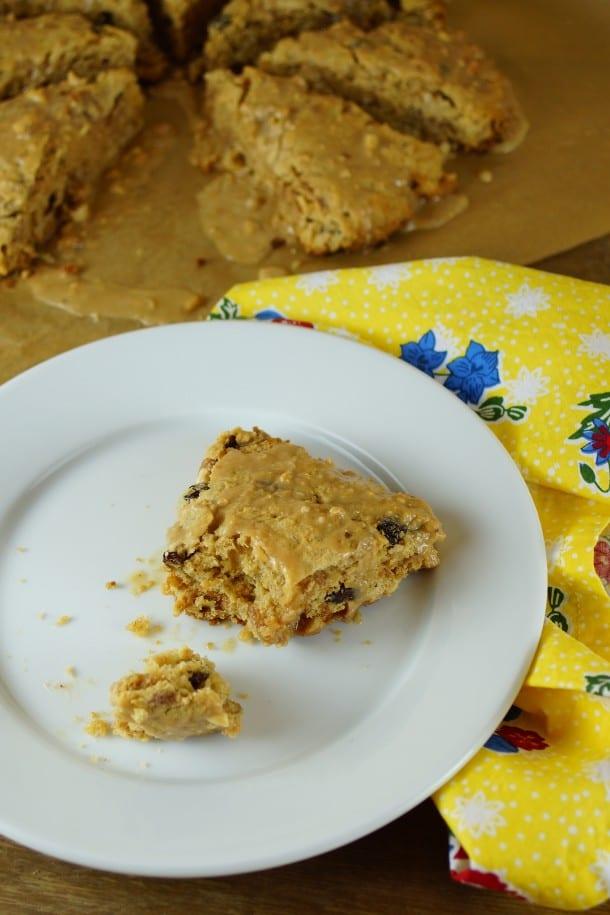 Peanut Butter and Raisin Bran Pie