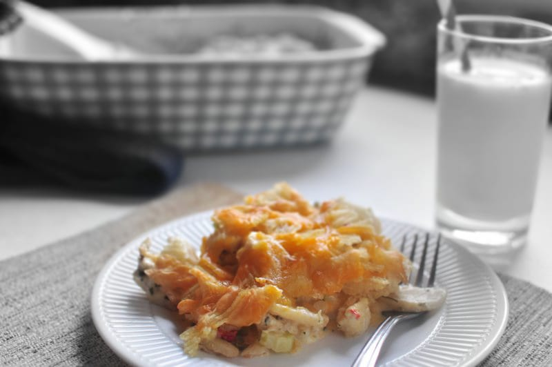 Retro Chicken n Chips Casserole