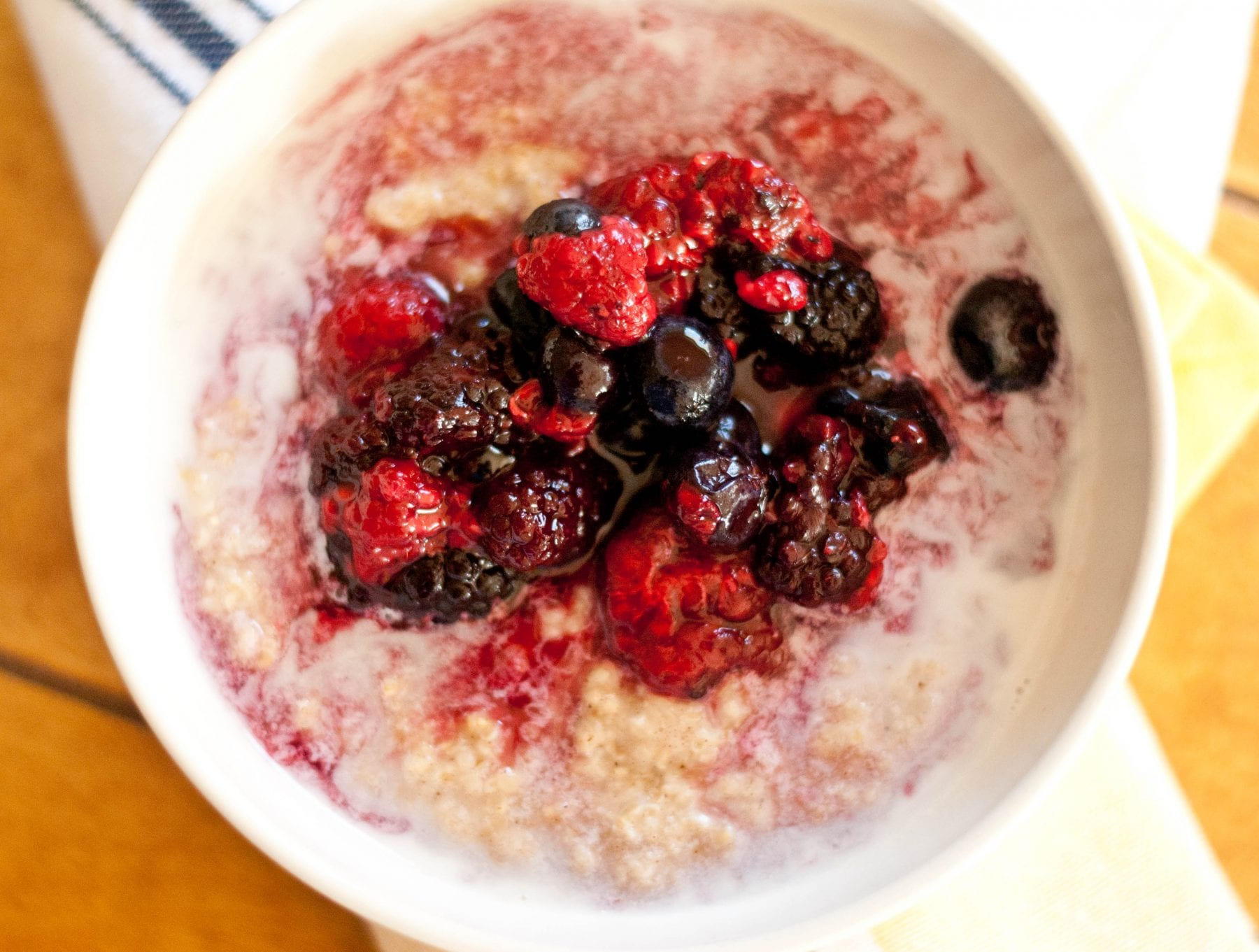Berry Breakfast Porridge