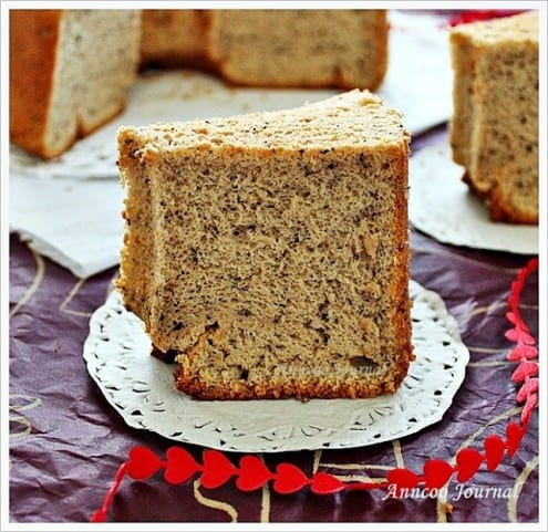 Earl Grey Tea Chiffon Cake Recipe