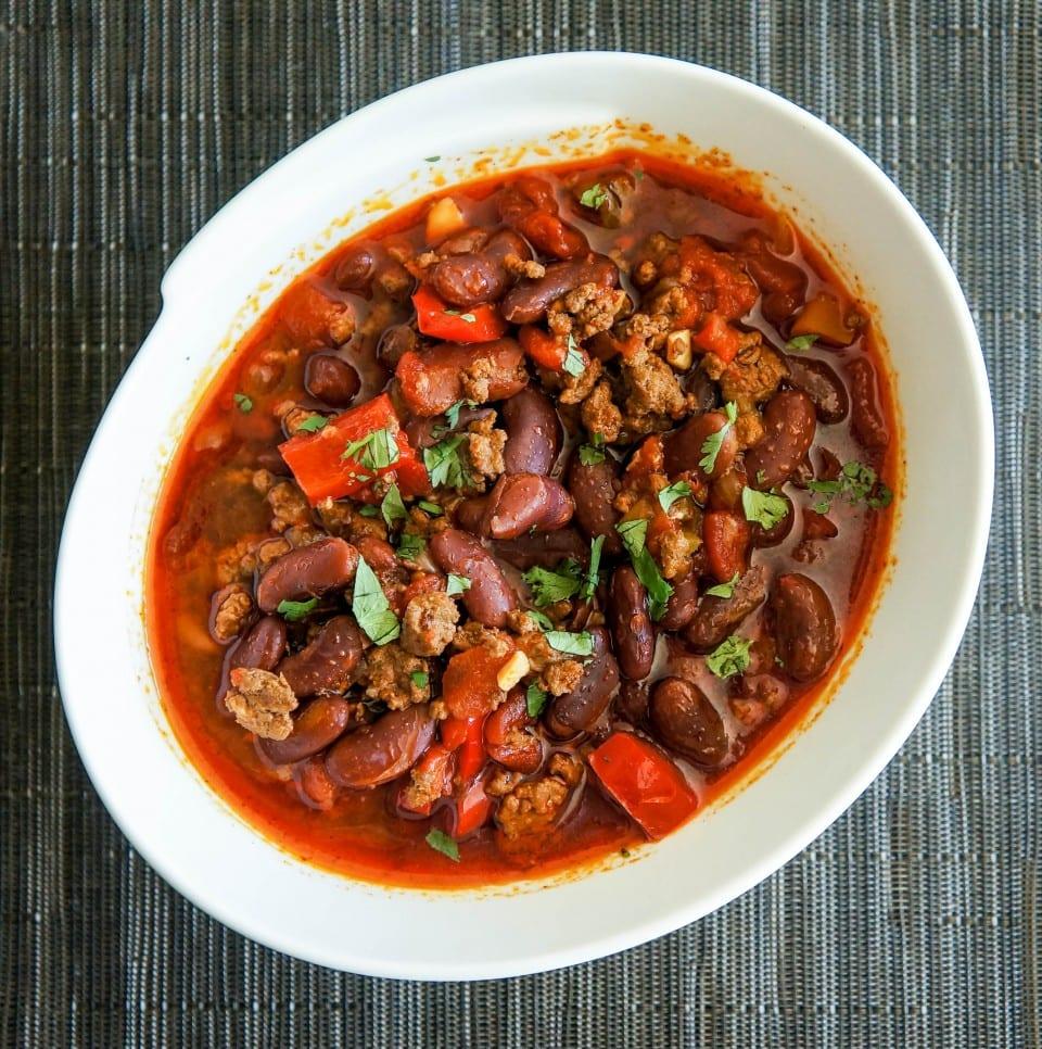 Smokey Habanero Chili con Carne