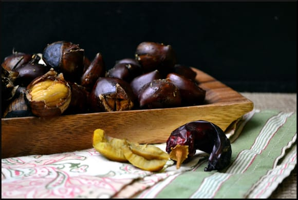 Spicy Roasted Chestnuts
