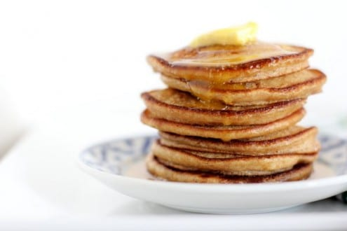 Light and Fluffy Whole Wheat Pancakes – Honest Cooking