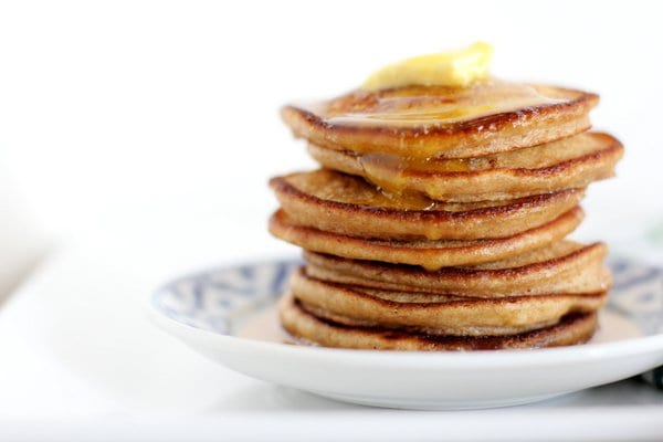 Light Fluffy Whole Wheat Pancakes