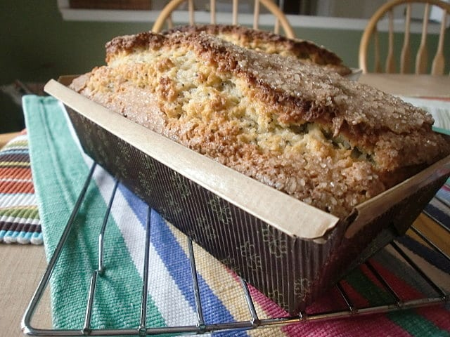 Poppy Seed and Almond Bread