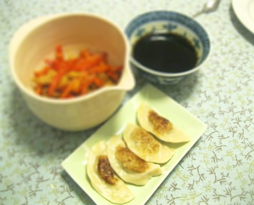 Beef and Ginger Jiaozi Dumplings Recipe by Jess Lacey