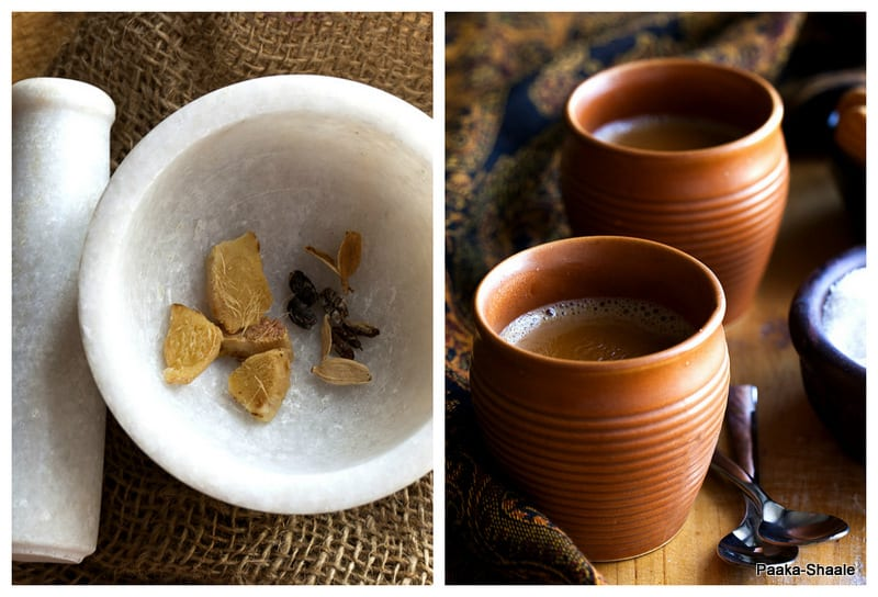 Ginger and Cardamom Tea