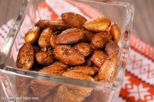 Cajun Style Roasted Almonds