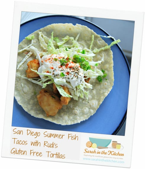 Fish tacos recipe by sarah platanitis for Sides for fish tacos