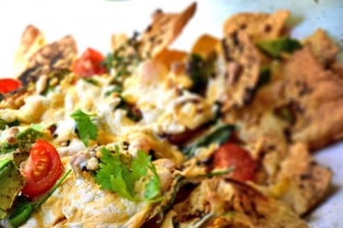 Simple Nacho Recipe Vegetarian