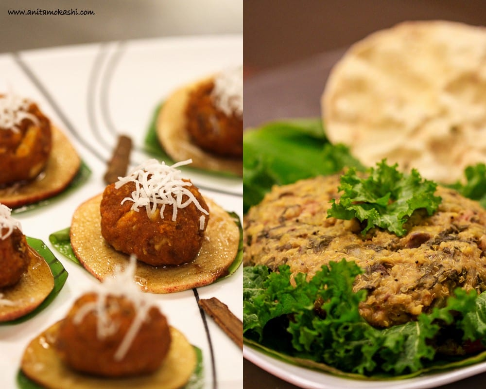 Quinoa Bisibelabhat and Sweet Potatoes