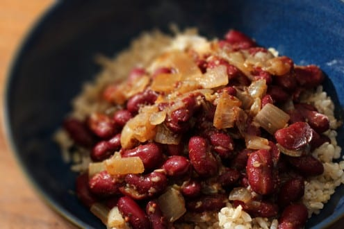 Red Beans and Brown Rice