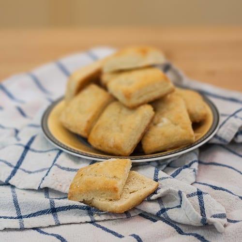 Creme Fraiche Biscuits