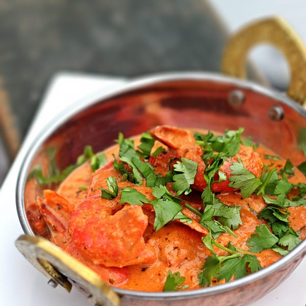 Slow Cooker - Shrimp Tikka Masala