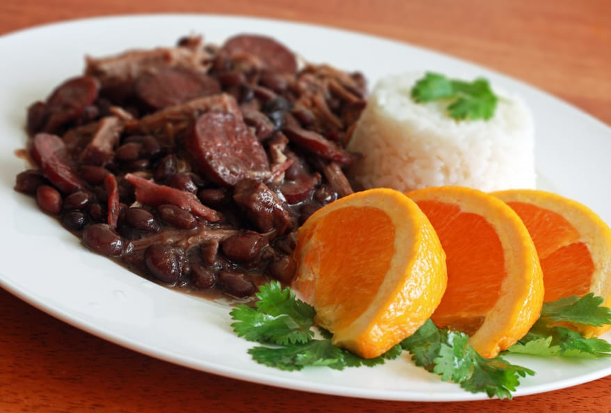 Feijoada - Brazilian Beans and Rice