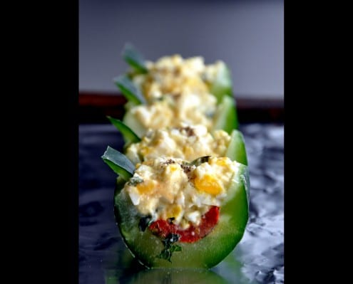 Cucumber Boats Recipe