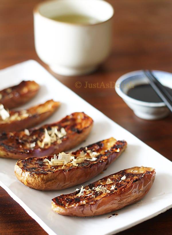 Nasu Dengaku - Grilled Miso Glazed Eggplants