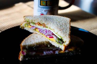 Veggie Cheese Sandwich