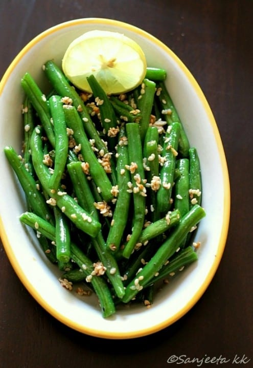 Roasted Green Beans – Honest Cooking