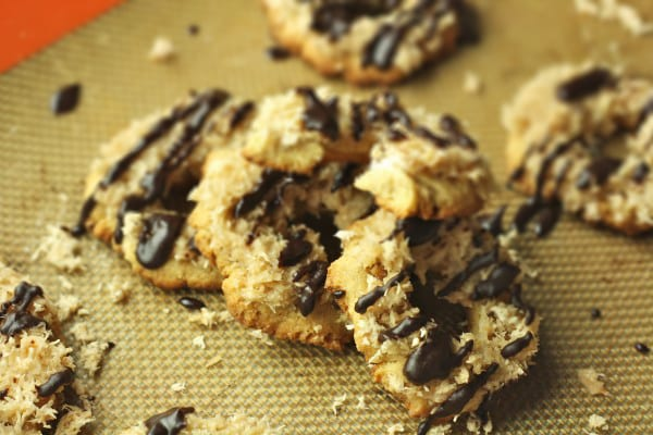 Homemade Healthy Vegan Samoas