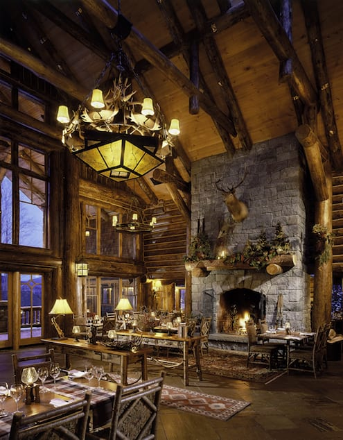 Late winter getaway the whiteface lodge lake placid for Cabin hotel new york