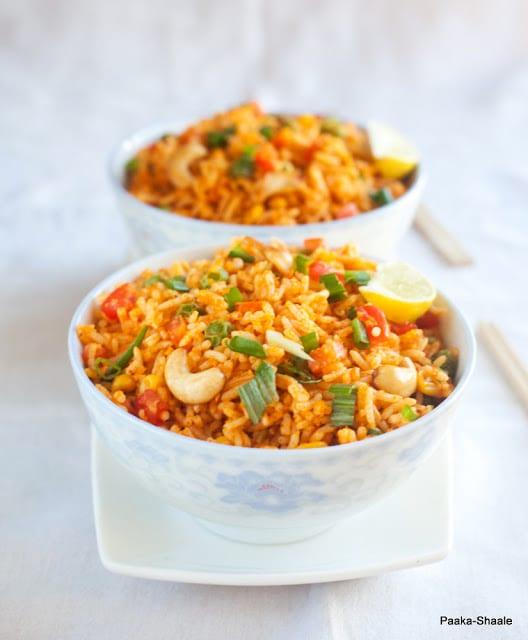 Nasi Goreng Malaysian Fried Rice Recipe By Nandita Nataraj