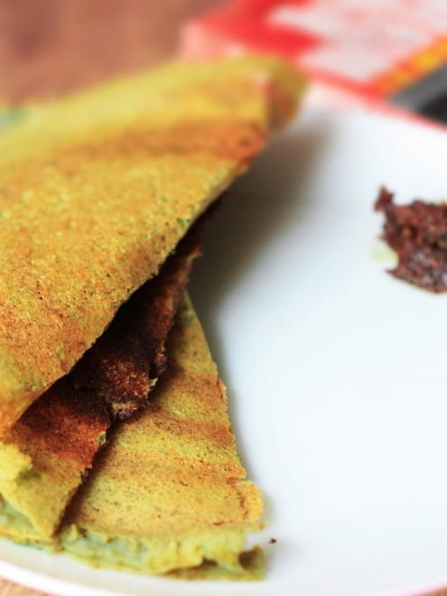 Pesarattu - Lentil Pancakes