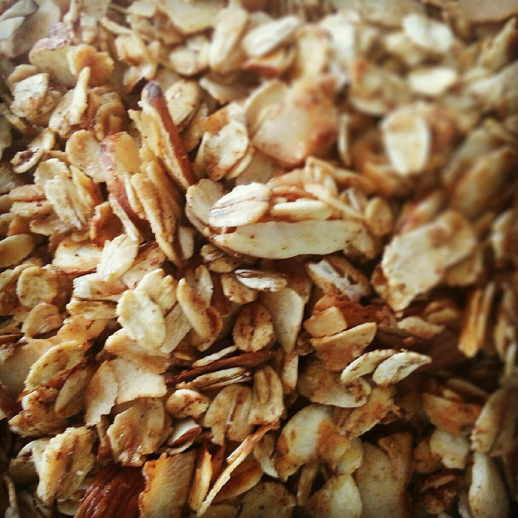 Coconut Almond Granola – Honest Cooking