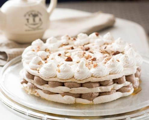 Meringue Nougat Cake